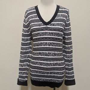 3for$20 striped sweater large